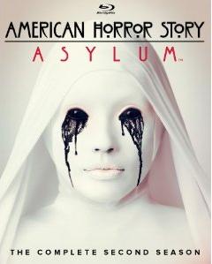 American Horror Story: Asylum blu ray cover