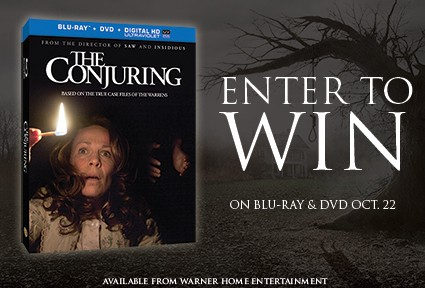 The Conjuring giveaway contest blu ray combo pack
