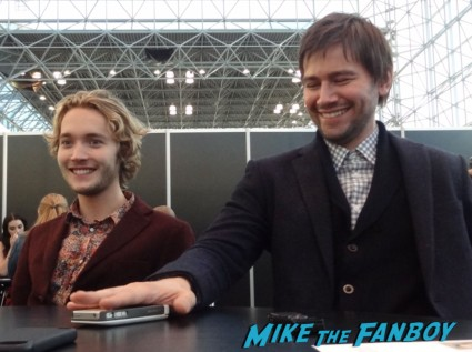 "oby Regbo (Prince Francis) and Torrance Coombs (Sebastian ""Bash"")  nycc rare press conference"