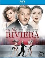 on the riviera blu ray cover key art