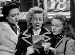 A Letter to Three Wives rare press promo still hot