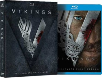 Vikings_S1_BLU ray limited edition packaging vikings press promo still ravis fimmell rare ragnar lothbrook
