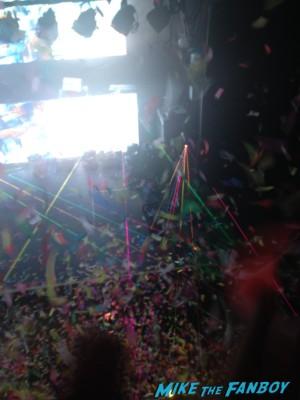 Zedd signing autographs for fans meet zedd live in concert