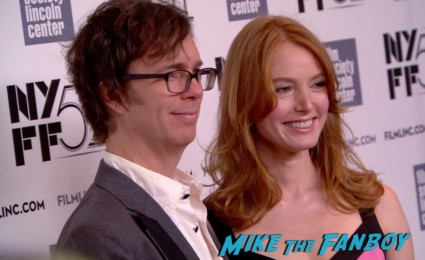 Ben Folds on the red carpet at the about time new york film festival premiere richard curtis bill nighy
