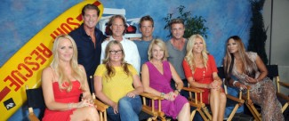 The Hollywood Show baywatch 20th anniversary cast photo reunion
