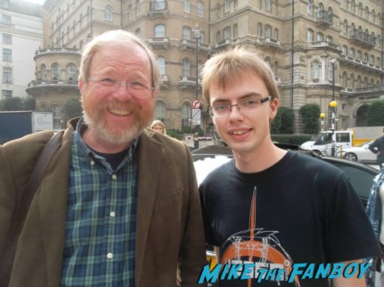Bill Bryson signing autographs for fans author rare