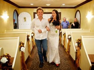 bon jovi shows up for mega fans wedding