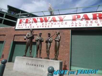 fenway park filming location rare