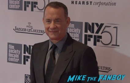 tom hanks on the red carpet at the captain phillips nyff red carpet tom hanks