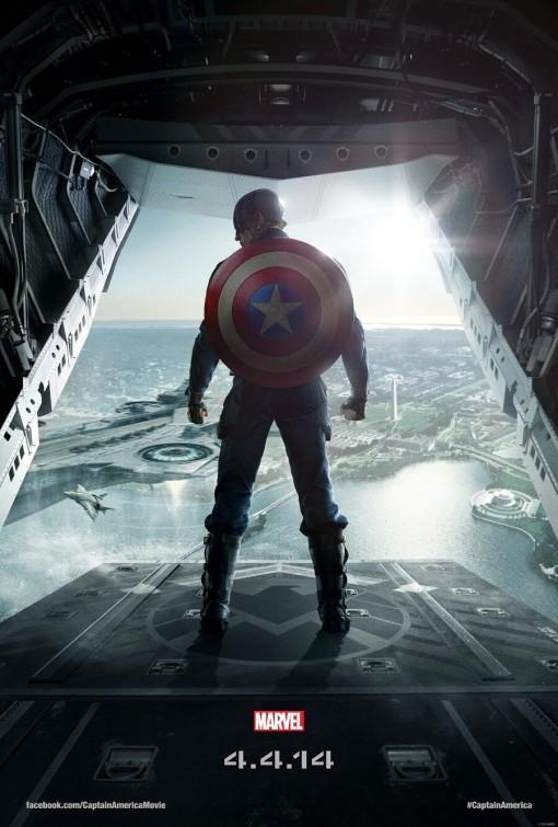 captain_america_the_winter_soldier Captain America: The winter soldier logo rare chris evans marvel avengers poster