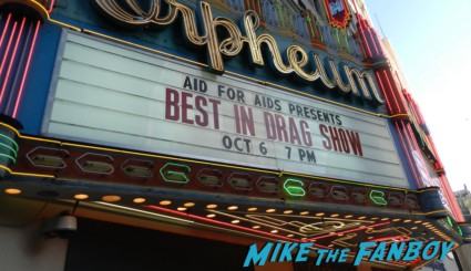 Orpheum theater best in drag show marquee
