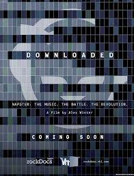 downloaded movie poster John Stewart Napster Shawn fanning downloaded movie documentary alex winter