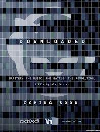 downloaded movie poster John Stewart Napster Shawn fanning downloaded movie documentary alex winter