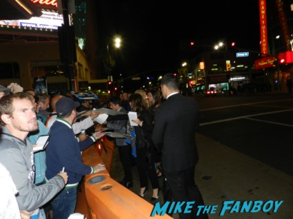 Aramis Knight signing autographs ender's game movie premiere debacle red carpet harrison ford 033