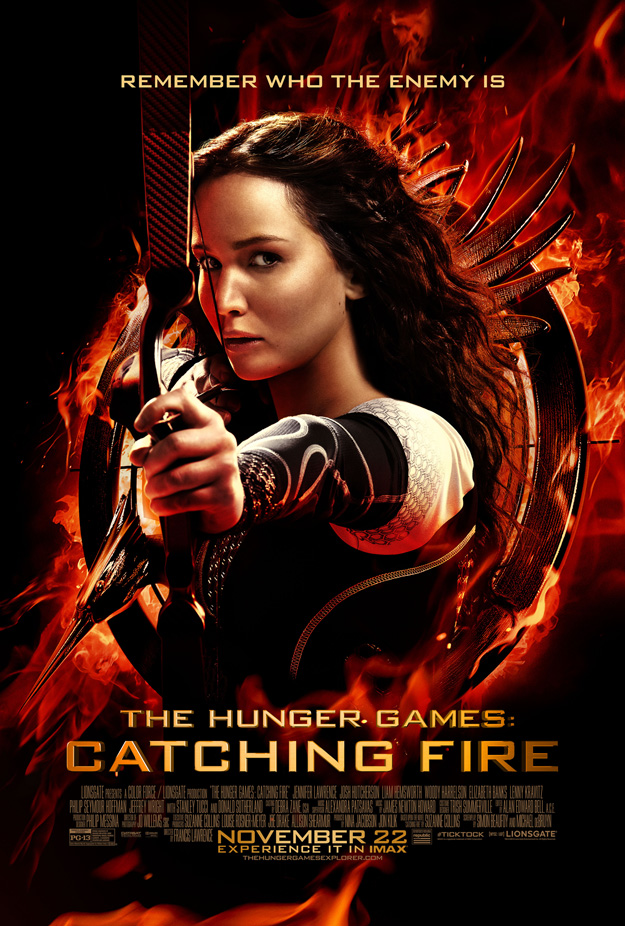 finalhungergamepostersmall hunger games catching fire movie poster one sheet katniss everdeen logo