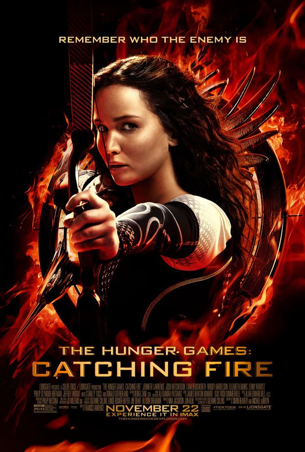 finalhungergamepostersmall hunger games catching fire movie poster one sheet katniss everdeen logo