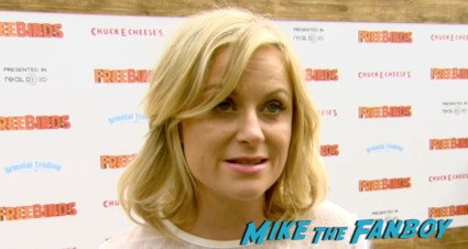 amy poehler on the red carpet free birds movie premiere owen wilson amy poehler red carpet Free Birds Movie Premiere Recap! Amy Poehler! Woody Harrelson! Owen Wilson! And A Kickin' Afterparty!
