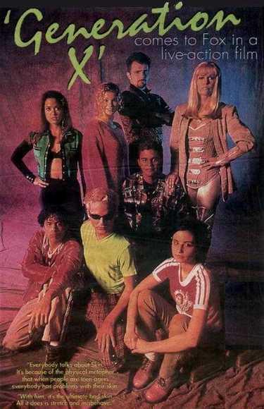 generation-x-dvd cover rare cast photo rare