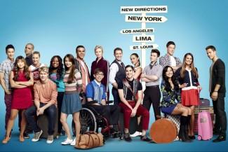 glee-full-cast-season-4 cast photo rare promo promo poster key art