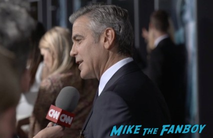 gravity new york movie premiere sandra bullock george clooney red carpet