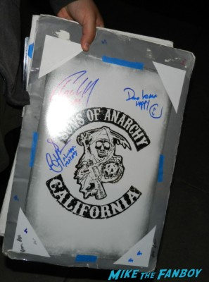 emilio riviera sons of anarchy one heart benefit charlie hunnam leaving