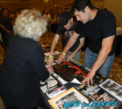 Veronica Cartwright signing autographs at hollywood show julie newmar signing autographs catwoman barbie 021