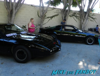 KIIT cars at hollywood show julie newmar signing autographs catwoman barbie 038