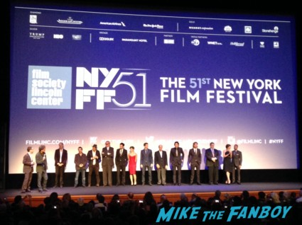 NYFF Inside Llewyn Davis movie premiere rare cast q and a rare