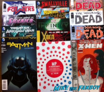 new comic books the walking dead batman arkham asylum rare