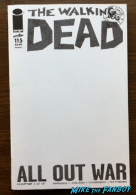 The Walking Dead all out war cover
