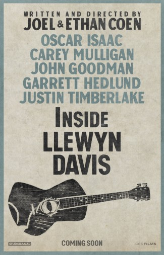 Inside Llewyn Davis mpvie poster one sheet inside llewyn davis movie premiere