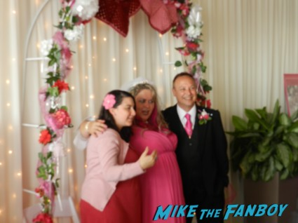 keith coogan Kristen Pinky sheen wedding ceremony reception cake 018