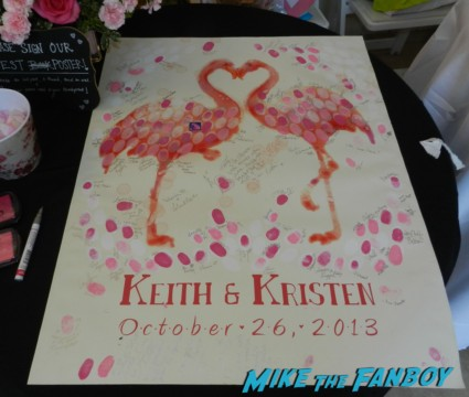 keith coogan Kristen Pinky sheen wedding ceremony reception cake 158