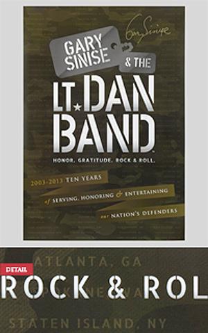 Lt. dan band signed autograph concert posters