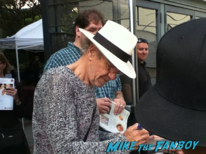 sir ian mckellen signing autographs for fans rare