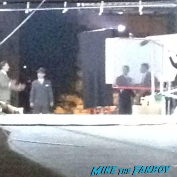 mob city on location filming rare los angeles set visit