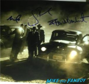 mob city signed photo poster walking dead signed script walking dead signed poster autograph rare