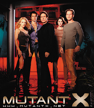 mutant-x cast photo rare promo