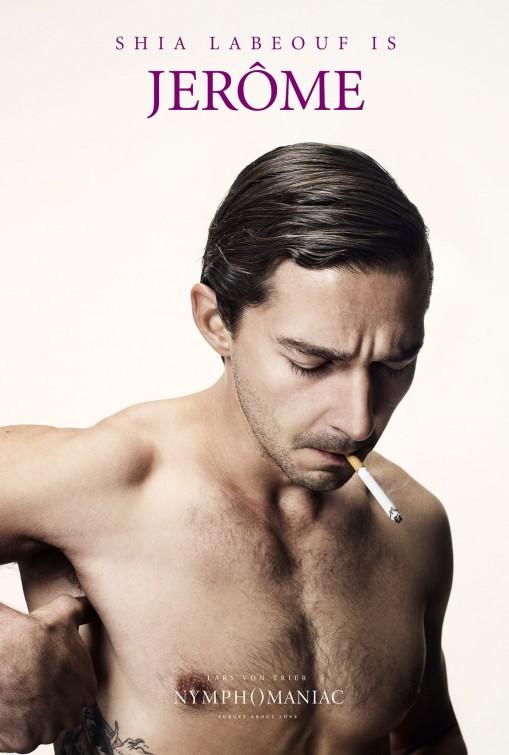Shia Labeouf naked nymphomaniac poster _ver6