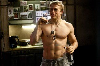pacific-rim-charlie-hunnam-shirtless naked nude muscle rare flex