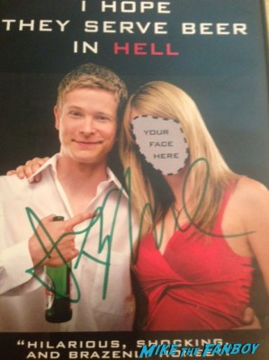 Cult Classic Corner! Jack Hopes They Serve Beer In Hell! And Talks About The Film & Meeting It's Star Jessie Bradford! Autographs! And More! signed autograph rare
