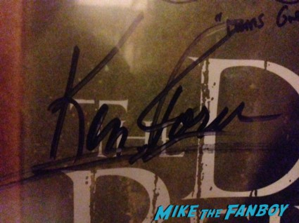 Ken Foree brian mosley texas chainsaw massacre dvd cover tobe hooper signed autograph dvd cover rare