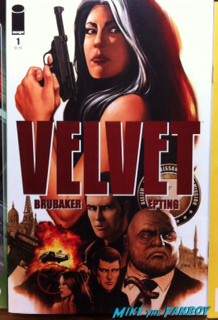 velvet comic book cover rare graphic novel