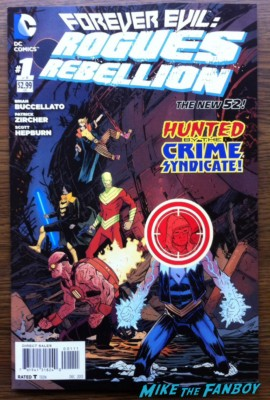 roges rebellion #1 comic book issue rare
