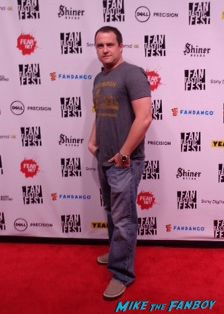 Fantastic Fest photo rare red carpet