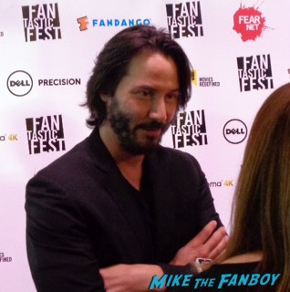 Keanu Reeves fantastic fest red carpet rare promo hot sexy matrix star