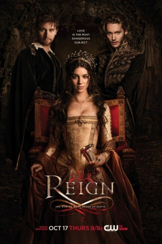 reign one sheet movie poster key art rare mary queen of scotts