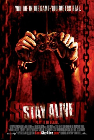 stay_alive one sheet movie poster rare promo