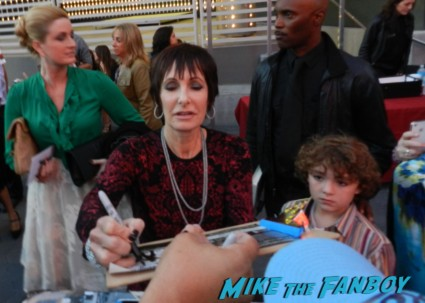 Gale Anne Hurd signing autographs the walking dead season 4 premiere red carpet norman reedus hot 119
