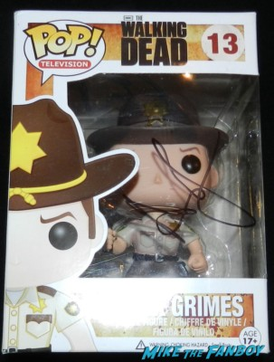 andrew lincoln signed autograph funko pop figure rick grimes the walking dead season 4 premiere red carpet norman reedus hot 159